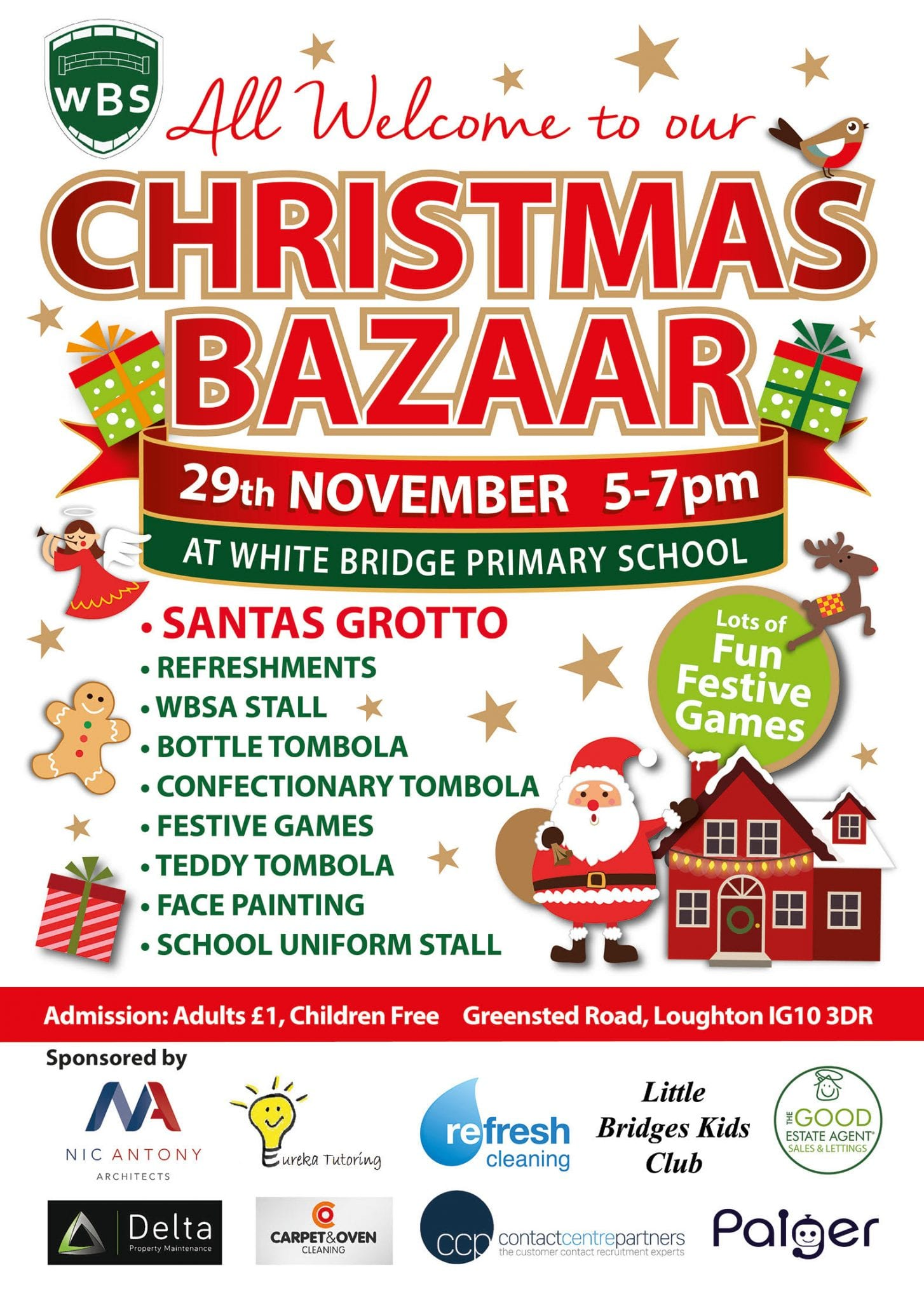 Christmas Bazaar (White Bridge School)